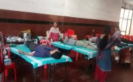 Mega Blood Donation @ Technopark