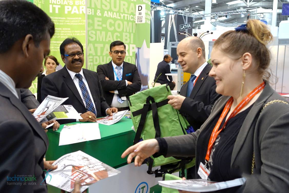 Kerala IT bags continue to be popular in CeBIT 2015