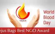 TEJUS bags 'Best NGO' award