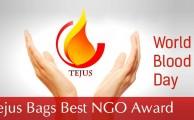 TEJUS bags 'Best NGO' award