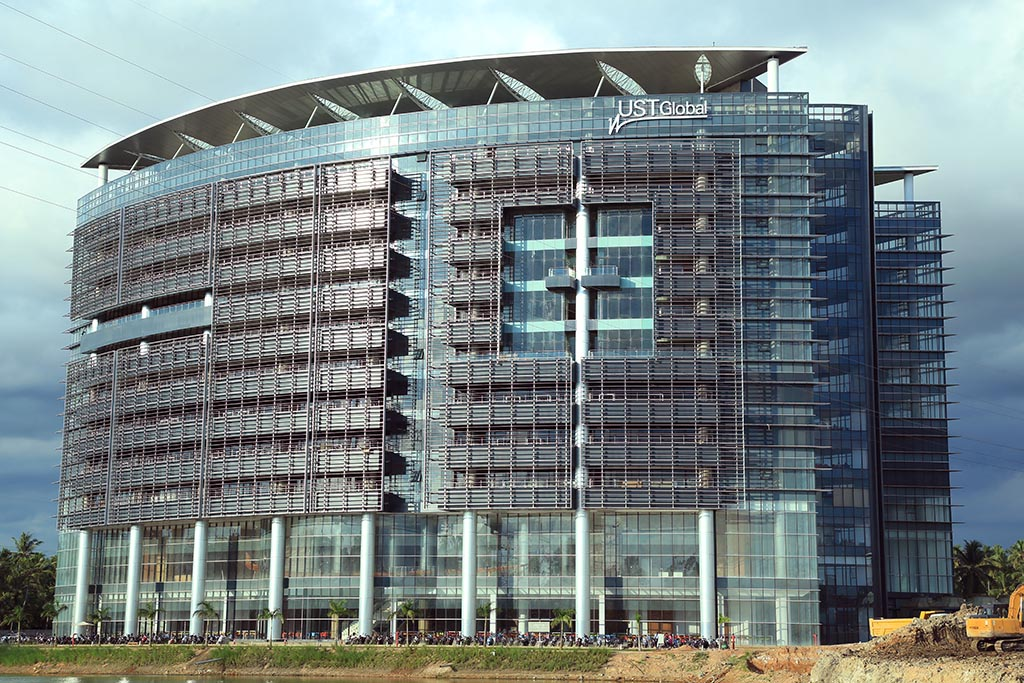 The UST Global building at Technopark, Trivandrum.